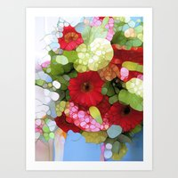 heaven Art Prints featuring Heaven by Joke Vermeer