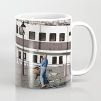 cycling Mugs featuring Cycling life by biCHICleta
