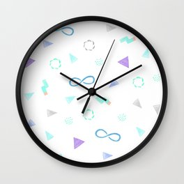 microscopic world Wall Clock