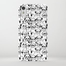 Oh Pugs iPhone Case