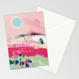 spring dream landscape Stationery Cards
