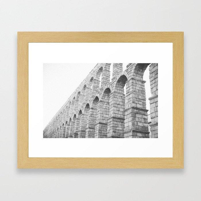 Segovia Spain Aqueduct  Framed Art Print