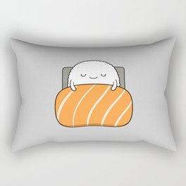 sleepy sushi Rectangular Pillow