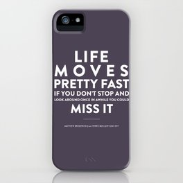 Life - Quotable Series iPhone Case