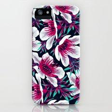 Manuka Floral Print -  Light iPhone (5, 5s) Slim Case