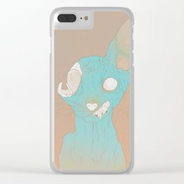 Sphynx Clear iPhone Case