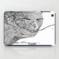 salvador dali iPad Cases featuring Salvador Dali by Ina Spasova puzzle