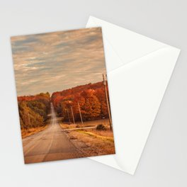 A Road to Autumn Stationery Cards