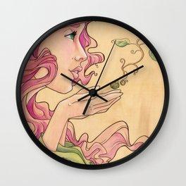 Hope Whispers Wall Clock