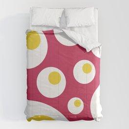 Fried Eggs Rebellion Comforters