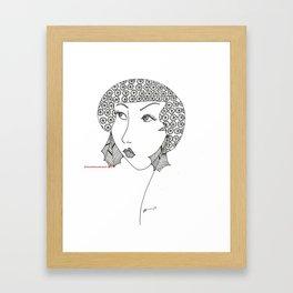 classy, sassy Framed Art Print