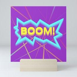 BOOM! Mini Art Print