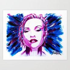 Queen of Pop Art Print