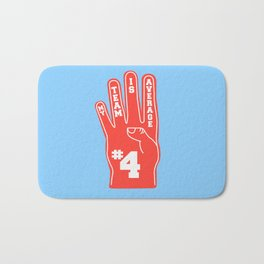 Foam Finger Bath Mat