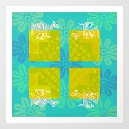 Paracas I Art Print