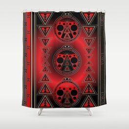 Ladybug Nation Shower Curtain
