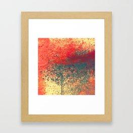 Ice Shade Blue Framed Art Print