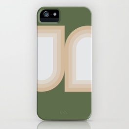 Contemporary Composition 13 iPhone Case