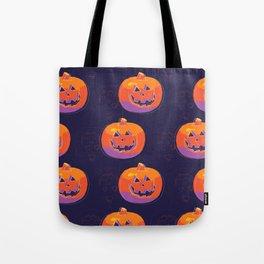 pumpkin with halloween Tote Bag