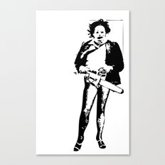 look who's coming! Canvas Print