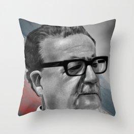 Salvador Allende Throw Pillow