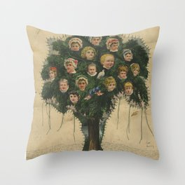 Are You Happy? Throw Pillow