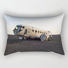 Plane Wreck Rectangular Pillow
