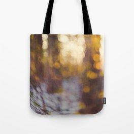 Glitter Globe Tote Bag