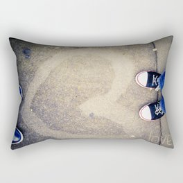 Street Love Rectangular Pillow