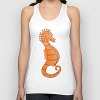 seahorse Tank Tops featuring Seahorse by mailboxdisco