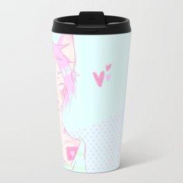 Pastel cat Travel Mug
