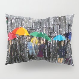 Rainy Day Reflecting Pillow Sham