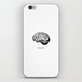 Brain Anatomy - Use It iPhone Skin