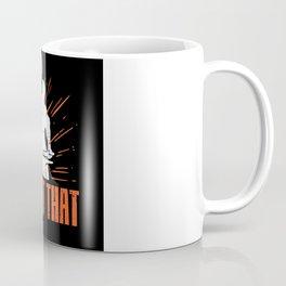 Blacksmith With Anvil Gift Idea Design Motif Coffee Mug