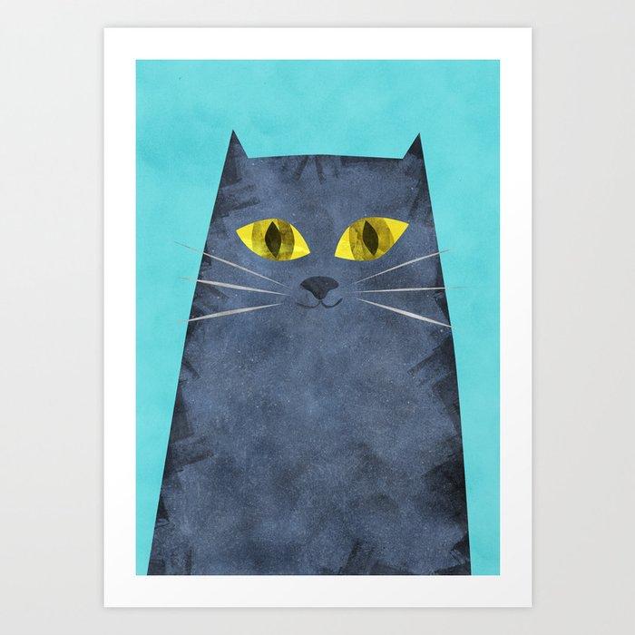 Tabby Art Print