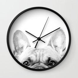 Bruno The French Bulldog Wall Clock