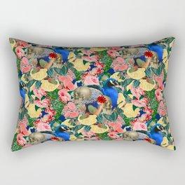 Eternal Peacock Rectangular Pillow