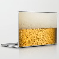 beer Laptop & iPad Skins featuring Beer by Rorzzer