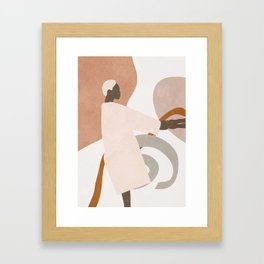 Hold on to me Framed Art Print