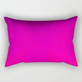 Fuchsia Fire Magenta Violet Ombre Rectangular Pillow