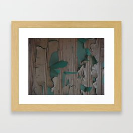 paint peel 2 Framed Art Print