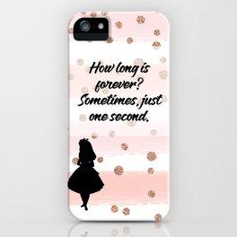 Alice In Wonderland Inspired iPhone Case iPhone Case