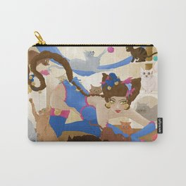 Pin Up et chats Carry-All Pouch