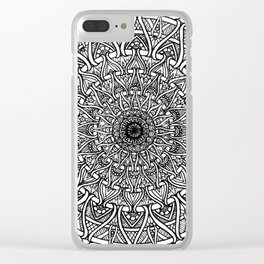 May your inner self be secure and happy Clear iPhone Case