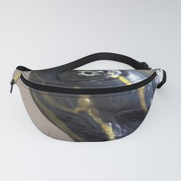 Watercolor Turtle, Eastern Painted Turtle, Pretty Eyes Fanny Pack