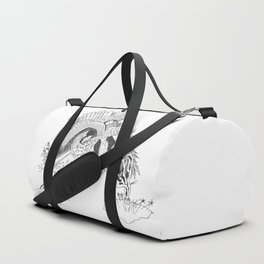 The Word  of God Abstract Duffle Bag