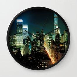 Starless Wall Clock