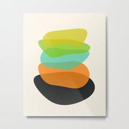 Modern minimal forms 35 Metal Print