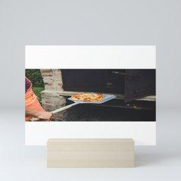 Pizza Slices (96) Mini Art Print