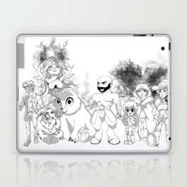 Vox Machina - Critical Role Line Art Laptop & iPad Skin